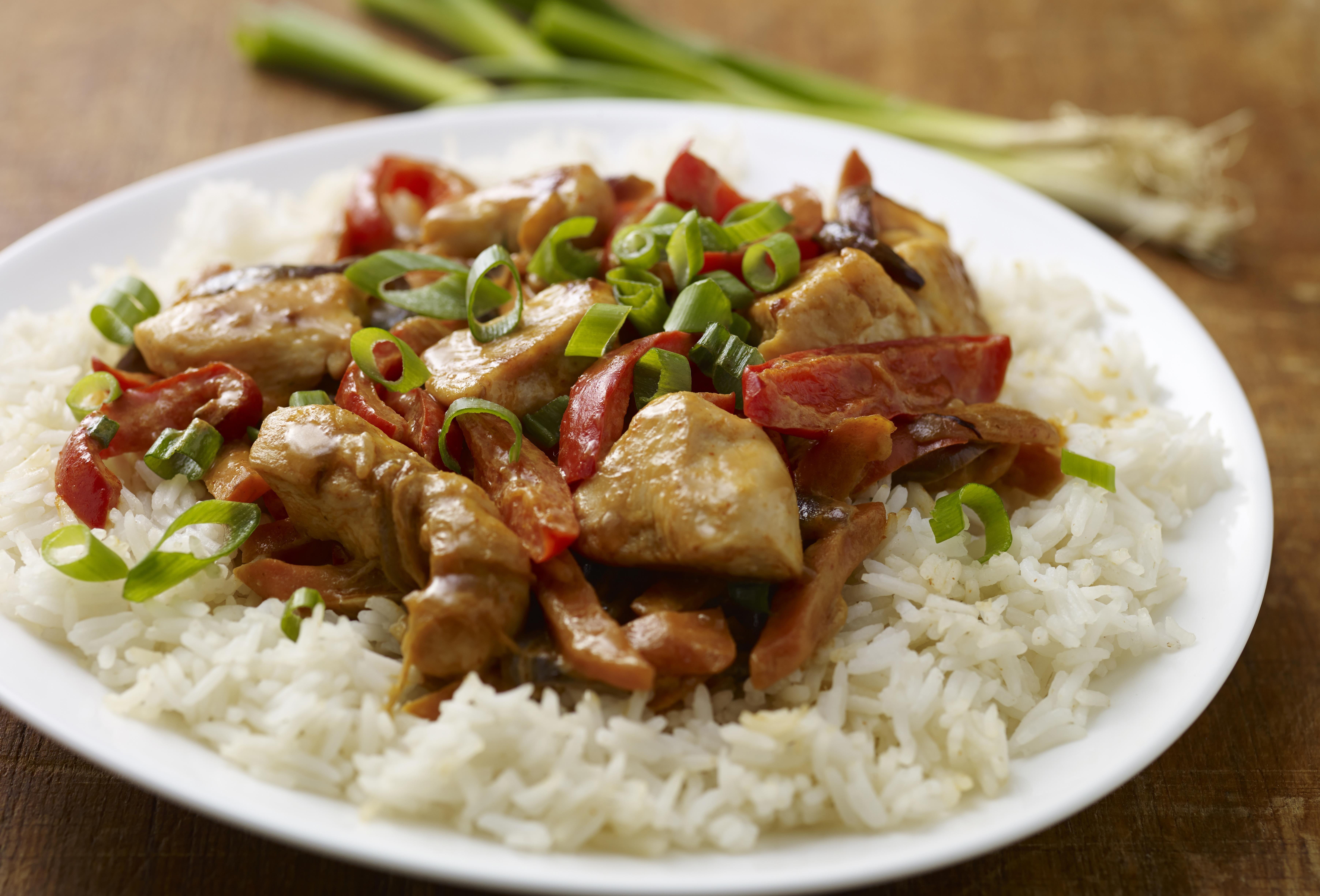 Rijst als basis voor de maaltijd